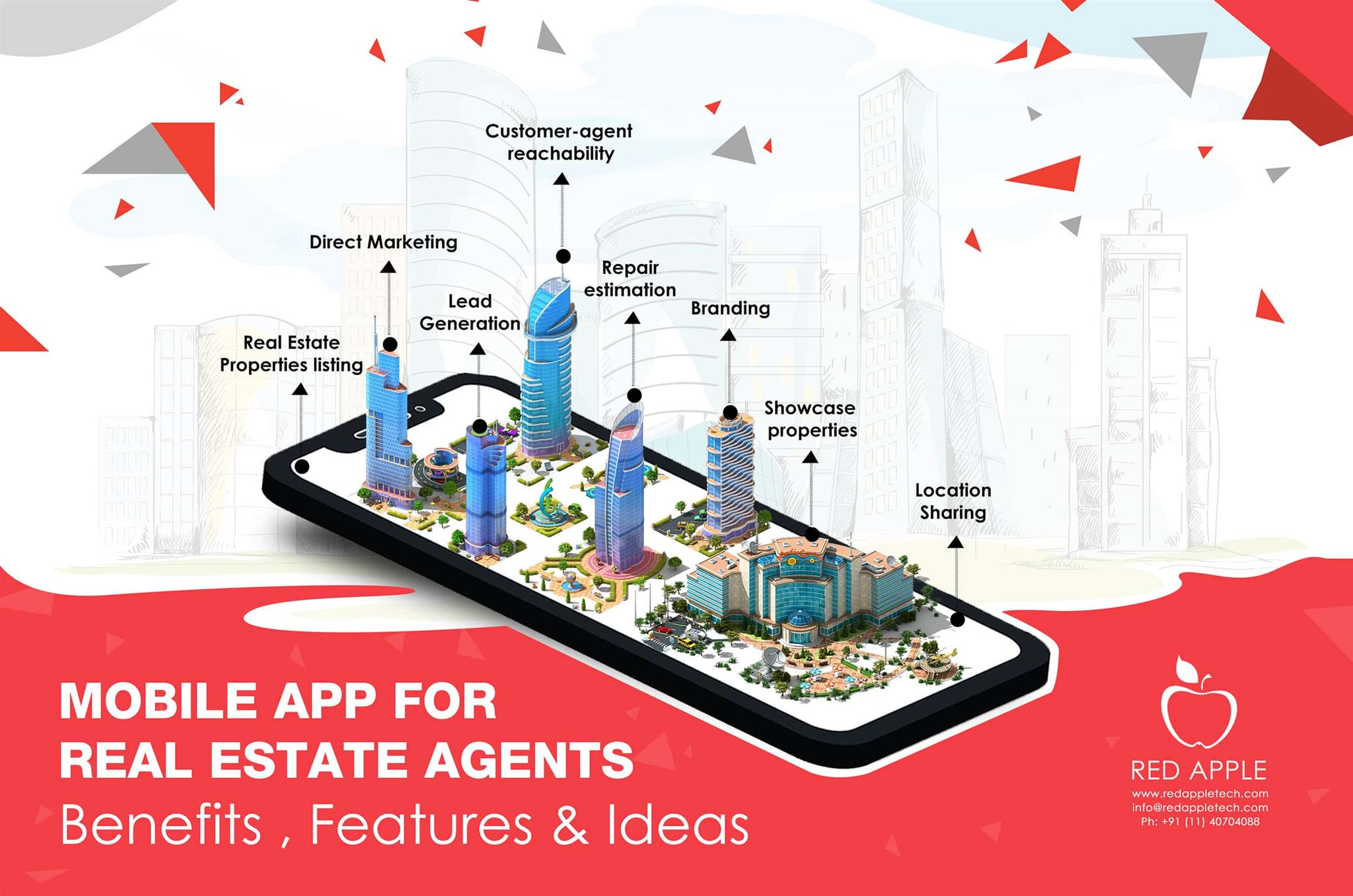 Why Mobile App Is Must For Real Estate Agents Mobile Game App