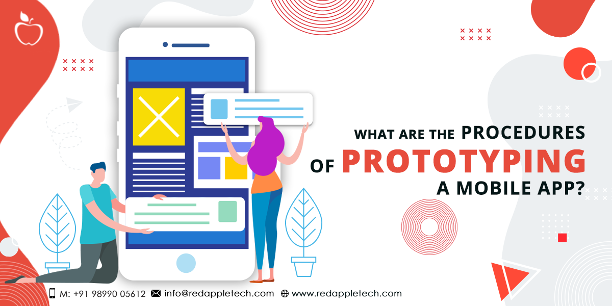 What Are the Procedures of Prototyping a Mobile App