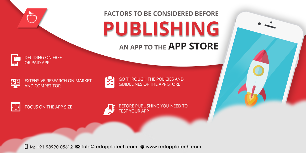 Publishing app on app store
