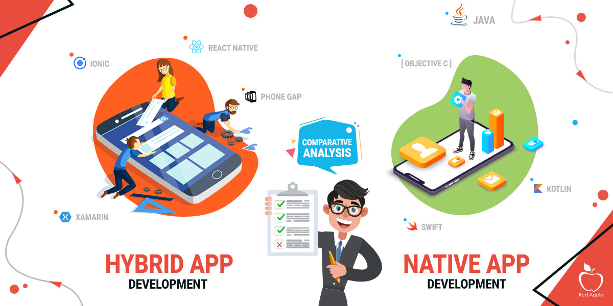 Differentiating Characters of Hybrid and Native App Development